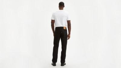 Levi's 550 Black Jeans Back