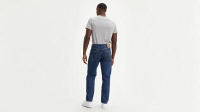 Levi's 550 Dark Stonewash Jeans Back
