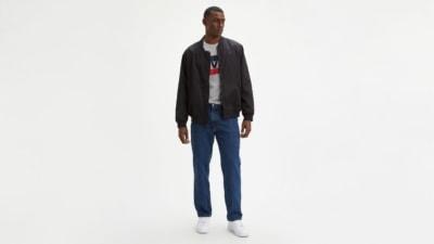 Levi's 550 Dark Stonewash Jeans