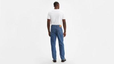 Levi's 550 Medium Stonewash Jeans Back