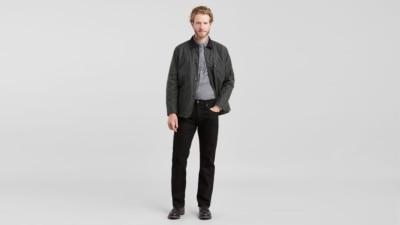 Levi's 559 Black Jeans 00559-0239 front