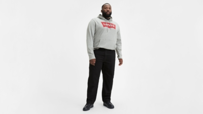 Levi's 550 Black Big and Tall Jeans