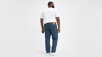 Levi's 550 Dark Stonewash Big and Tall Jeans Back