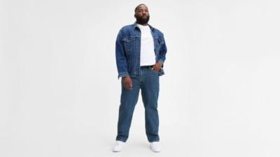 Levi's 550 Dark Stonewash Big and Tall Jeans