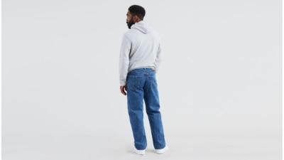 Levi's 550 Medium Stonewash Big and Tall Jeans Back