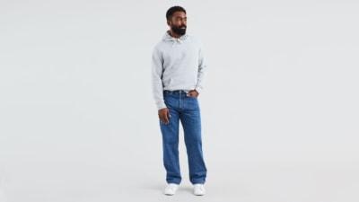 Levi's 550 Medium Stonewash Big and Tall Jeans