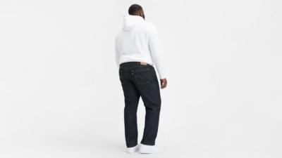 Levi's 559 Tumbled Rigid Jeans 01559-0004 Big and Tall Back