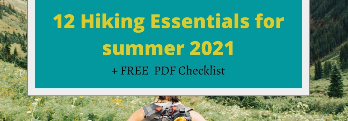 RMNP 10 Hiking Essentials checklist for summer 2021