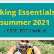 RMNP 10 Hiking Essentials checklist for summer 2021
