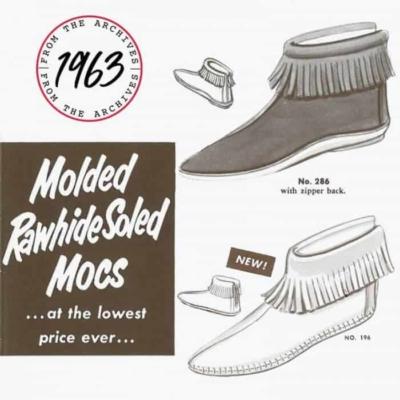 1963 Description Back Zip Boots
