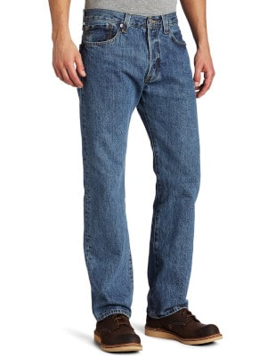 Levi's 501 Prewashed Medium Stonewash Jeans