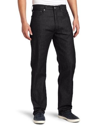 Levi's 501 Shrink-to-fit Black Black