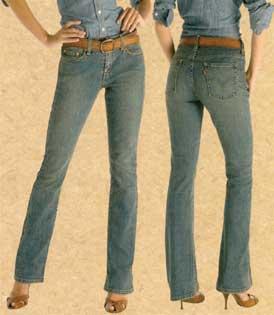 Levi's 515 Ladies Bootcut Jeans