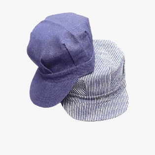 Dickies Engineer Caps Adult and Kids Navy and Stripe