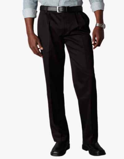 Dockers D3 Classic Fit Pleated Black