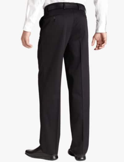 Dockers D3 Classic Fit Pleated Black Back