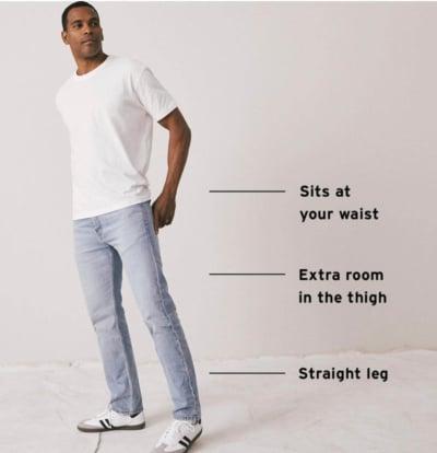 Levi's 505 Regular Fit Jeans Details