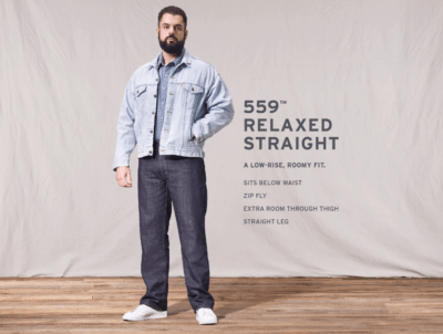 559 Relaxed Straight Fit Jeans