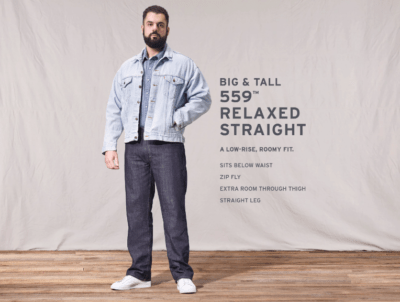 559 Relaxed Straight Fit Jeans Big and Tall