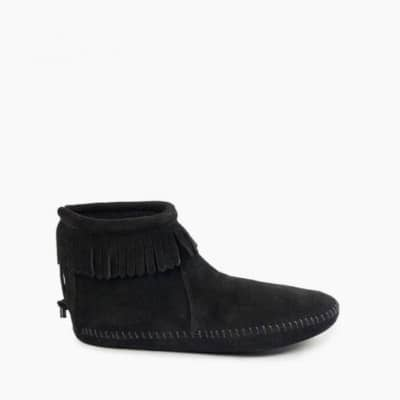 Back Zip Softsole Boot Black