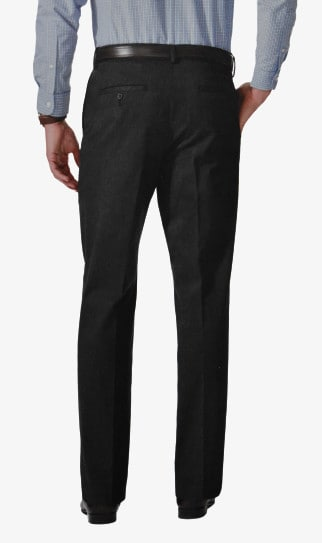 Dockers D3 Comfort Fit Pleated Cuffed Back Side