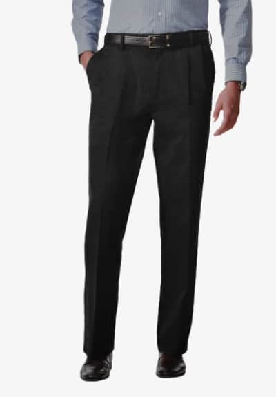 Dockers D3 Comfort Fit Pleated Cuffed Front Side
