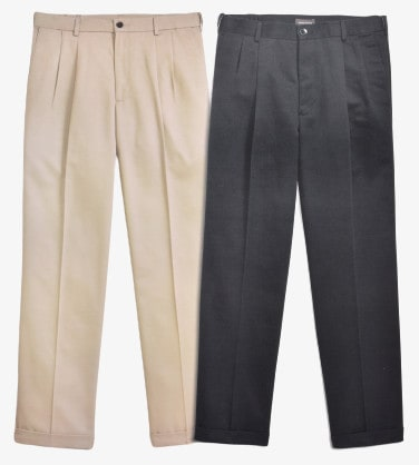 Dockers D3 Comfort Fit Pleated Cuffed Main Colors