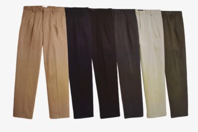 Docker D3 Classic Fit Pleated Colors