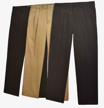 Dockers D4 Relaxed Fit Pleated True Chino Colors