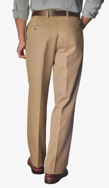 Dockers D4 Relaxed Fit Pleated True Chino Back Side