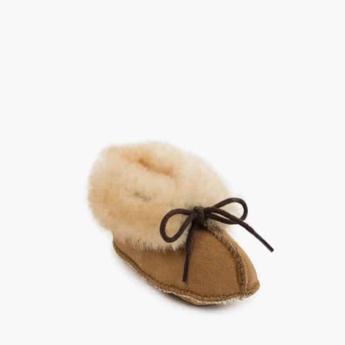 Infant's Sheepskin Booties