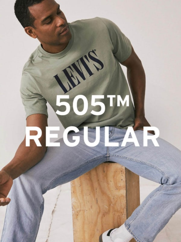 Levi's 505 Regular Fit Jeans Man