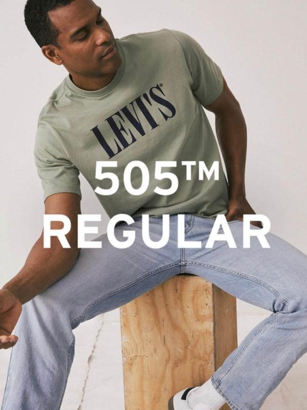 Levi's 505 Regular Fit Jeans Man