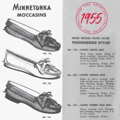 Women's Thunderbird Soft-sole Moccasin Description