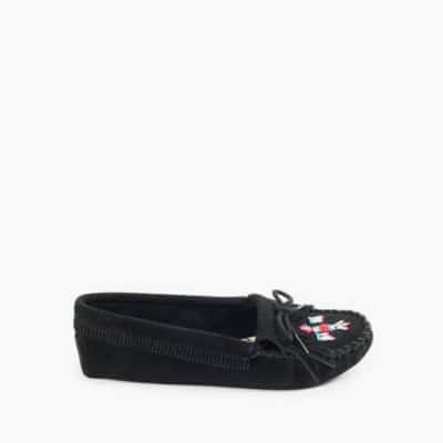 Women's Thunderbird Soft-sole Moccasin Black