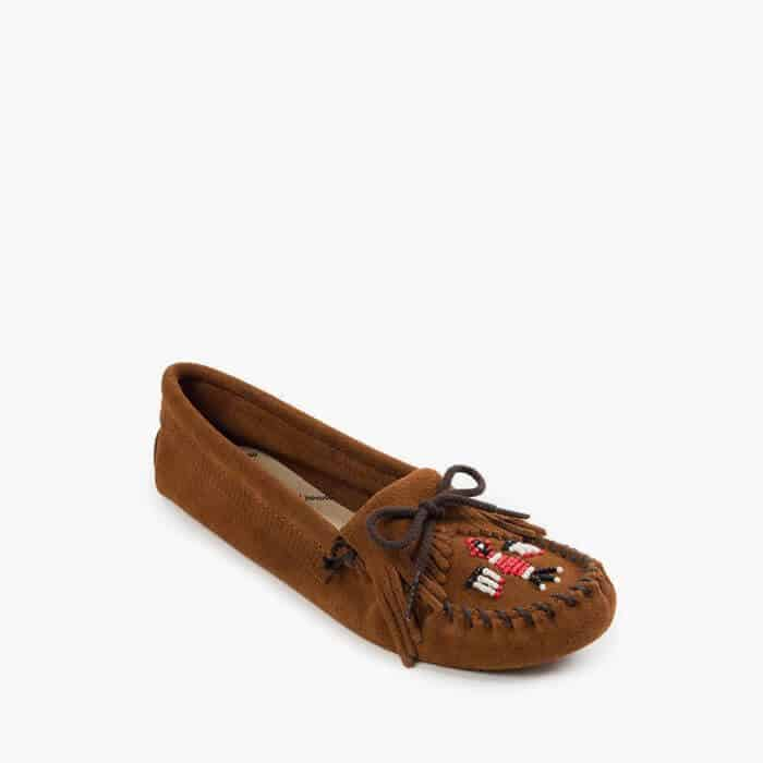 Women's Thunderbird Soft-sole Moccasin Brown