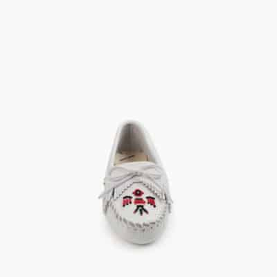 Women's Thunderbird Soft-sole Moccasin White