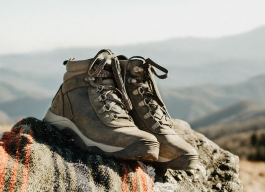 Image of hiking shoes as a Mother's day gift idea
