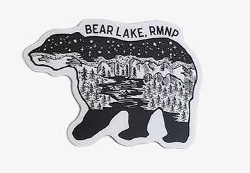 Bear Lake, RMNP Bear Vinyl Sticker