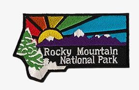 Rocky Mountain National Park sunburst patch